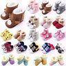 Newborn Baby Boy Girl Boots Soft Sole Crib Pram Shoes Prewalkers Sneaker Trainer