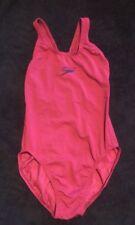 "Girls Speedo Swimsuit Size 30"" In Pink"