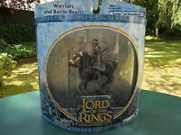 "LORD OF THE RINGS LE SEIGNEUR DES ANNEAUX "" EOMER A CHEVAL "" MINT IN BOX"