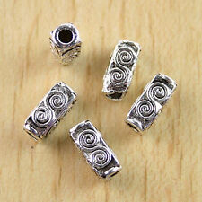 20pcs Tibetan silver screw square spacer beads h0356