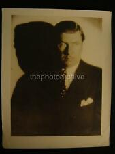 20s George Bancroft VINTAGE DBW Oversize 11x13.5 PHOTO By Hommel w/Credit OS97