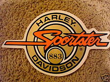 "New Vintage Harley Davidson Sportster 883 Gold Small 4.25"" Tank Style Set of 2"