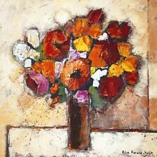 Alie Kruse-Kolk Star Bouquet Poster Kunstdruck Bild 70x70cm - Portofrei