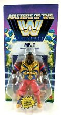 WWE Masters of the Universe -  Mr. T  - UNPUNCHED CARD! - NEW FAST SHIPPING MOTU