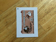 2016 TOPPS MLB WACKY PACKAGES SEPIA STICKER MYRTLE BEACH PELICANS STORAGE BAG 69