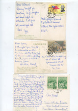 lot of 10 old Republic of China stamp covers, Taiwan