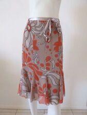 Polyester Petite Knee-Length Skirts for Women