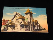 Vintage Postcard, ATLANTIC CITY, NEW JERSEY, NJ, Saint Paul's Methodist Church