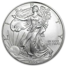 1996 1 oz Silver American Eagle Bu Key Date