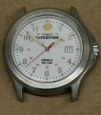 Mens Timex WR50M Expedition Indiglo Watch needs battery and band