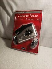 Duraband Personal Cassette Player Bass Boost w/Headphones Model 822 - Brand New