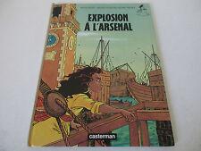 BD EXPLOSION A L'ARSENAL Nadine Brass Van der Straeten Regine Pascale CASTERMAN