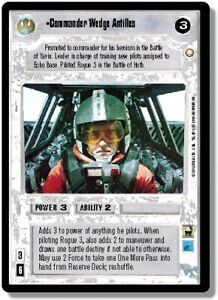1x Commander Wedge Antilles - Rare Damaged Special Edition - Limited - BB (Star