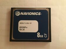 Navionics Iberia CF/31P+ Chart Cartridge for Raymarine Chart Plotter 8gb Used