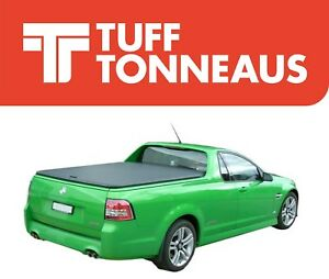 Black Tuff Lid Ute Hard Cover For Holden Commodore VE VF 2007 to Current