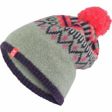 Kari Traa Women's Beanie Knitted Hat Wool Blended One Size Fleece Lined