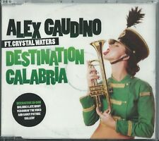 ALEX GAUDINO FEATURING CRYSTAL WATERS - DESTINATION CALABRIA 2007 UK ENHANCED CD
