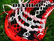 Lacrosse Money Mesh Diablo Red Black and White show your swag, bring your bling