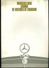 (113B) CATALOGUE MERCEDES BENZ 1967 Gamme de voitures de tourisme : 200D à 600