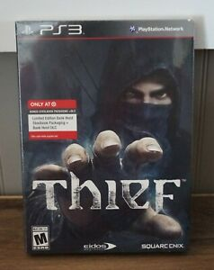 New! Thief [Target Limited Edition SteelBook & DLC] (PlayStation 3, 2014)