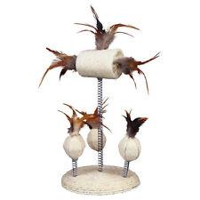 TRIXIE sisalständer avec jouets de nature à plumes, NEUF