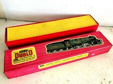 HORNBY DUBLO EDLT20 CARDIFF CASTLE RED LIDDED USED BOX & INSERT ONLY C1960