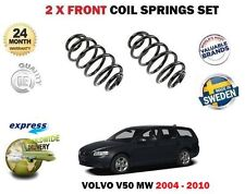 FOR VOLVO V50 T5 AWD R DESIGN 1.6D 2.0D CDI 2004-> 2X FRONT AXLE COIL SPRING SET