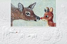 2 Boxes Pumpernickel Press Nosey Deer CHRISTMAS CARDS   USA  SALE!