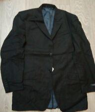 MENS Black pinstripe Suit JACKET Office etc  JOHN LEWIS Daniel Hechter 40L