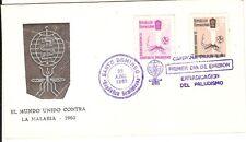 Malaria Paludisme 1962 fdc Dominican Rep. + 2c...