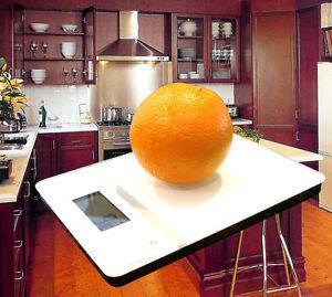 Brand New Modern Slim Flat Digital Glass Kitchen Capacity: 0.001-5kg Division 1g