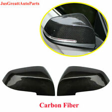 For BMW F10 F06 F12 F01 F02 Carbon Fiber Rearview Mirrors Cover Cap 2014-2016