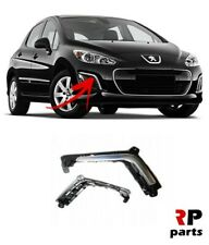 FOR PEUGEOT 308 11 - 14 NEW FRONT BUMPER DRL COVER CHROME RIGHT O/S