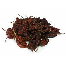Chilli vainas - 10g vainas secas de chocolate Naga Jolokia Chile-Pimienta Fantasma