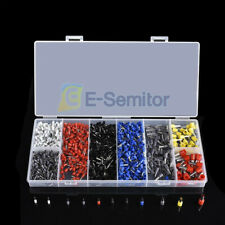 1200PCS Electrical Assorted Wire Terminals Set Insulated Crimp Connector Kit