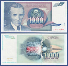 JUGOSLAWIEN / YUGOSLAVIA 1000 Dinara 1991  UNC  P.110