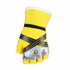Kingdom Hearts Cosplay Costume Accessory Pair of Sora Yellow / Black Gloves