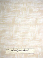 Apple Cider Gingerbread Words Cotton Fabric Wilmington Hot Cider #33751 Yard