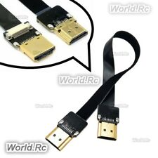 1x 20cm FPV HDMI Type A Male to HDMI Male HDTV FPC Cable for Aerial Photography
