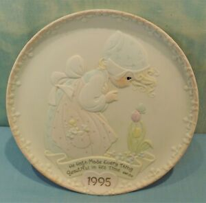 Enesco 1995 Mother's Day Collector Plate Precious Moments