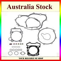 Complete Gasket Kit Top Bottom End Engine Head Base Seal Yamaha YZ250F WR250F