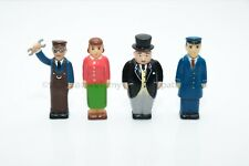 Sir Topham Hatt & Lady Hatt &Engineer Rare Set Thomas And Friends