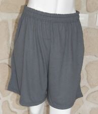Short gris neuf taille M marque Gildan Performance (dy)