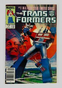 TRANSFORMERS #1 NEWSSTAND First Autobots Decepticons Appearance 1st App Hot Key