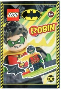 LEGO - Robin With Cape - Foil Pack - 212114 New & Sealed -  sh651