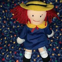 """MADELINE 10"""" Plush Stuffed Toy Doll by Eden"""