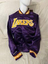 Mitchell and Ness NBA LAKERS Lightweight Satin Jacket - size L