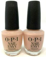 (2) Opi Nail Envy Strength + Color Nail Strengthener 0.5 fl oz Bubble Bath