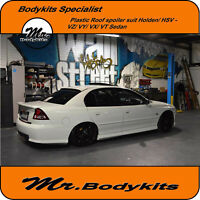 MR BODYKITS REAR PLASTIC ROOF SPOILER FOR VT/VX/VY/VZ HOLDEN COMMODORE SEDAN/836