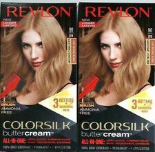 2 Revlon 90 81N Light Natural Blonde Vivid Hair Color Colorsilk Buttercream